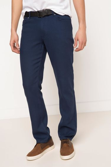 DeFacto Leo Regular Fit Kemerli Pantolon