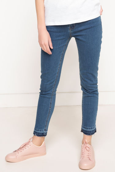 DeFacto Rebeca Normal Bel Denim Pantolon