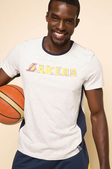 DeFacto NBA Lakers Lisanslı T-shirt