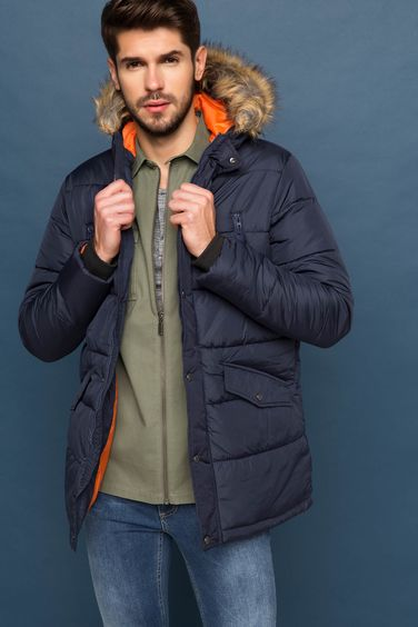 DeFacto Slim Fit Parka