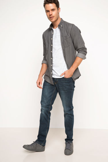DeFacto Paco Slim Denim Pantolon