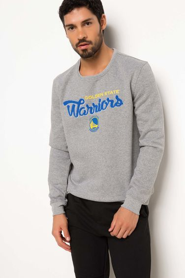 DeFacto Golden State Warriors Lisanslı Sweatshirt
