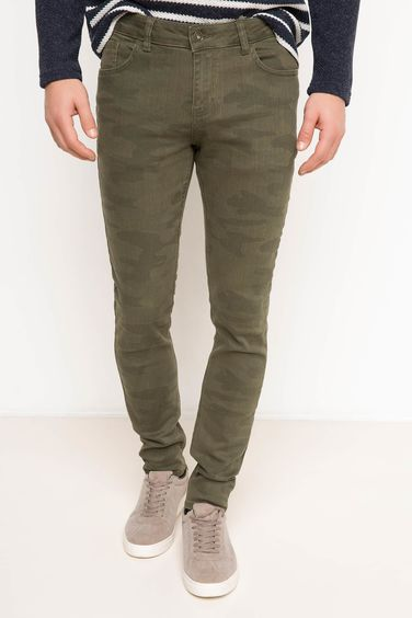 DeFacto Ekstra Slim Fit Denim Pantolon