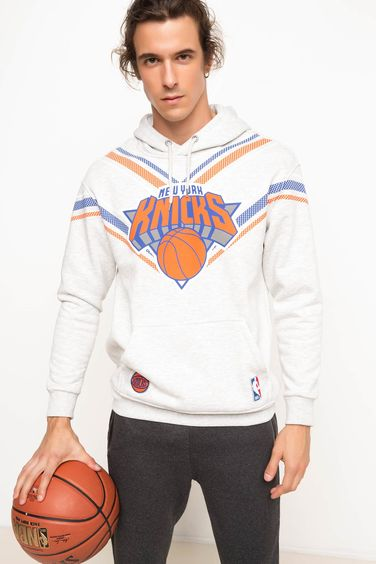 DeFacto New York Knicks Lisanslı Sweatshirt
