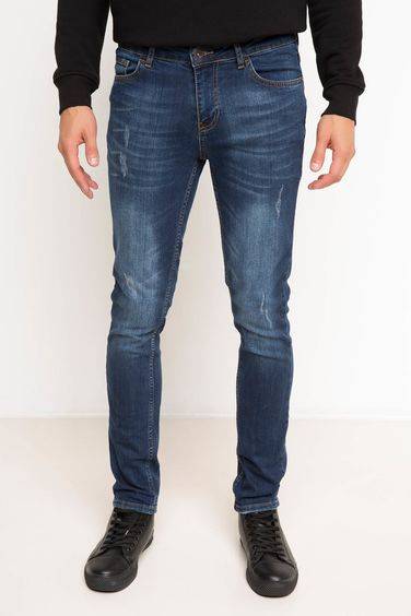 DeFacto Carlo Ekstra Slim Fit Denim Pantolon