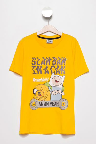DeFacto Adventure Time Lisanslı Baskılı T-Shirt