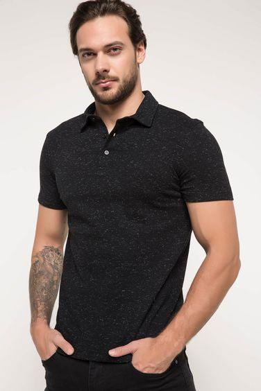 DeFacto Basic Polo Yaka T-shirt