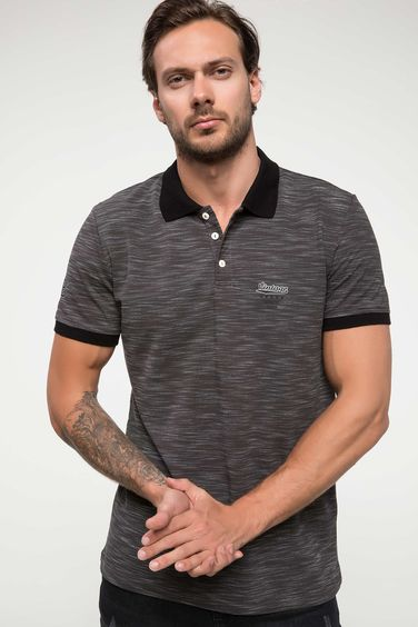 DeFacto Slim Fit Polo Yaka T-shirt
