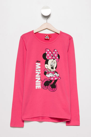 DeFacto Minnie Mouse Lisanslı Body