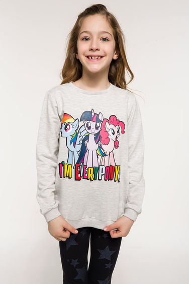 DeFacto My Little Pony Lisanslı Sweatshirt