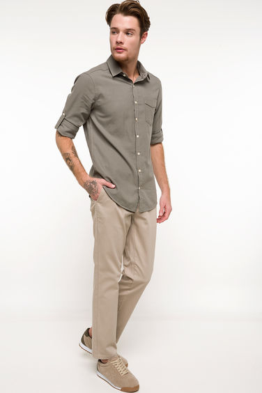 DeFacto Paco Regular Fit Chino Pantolon