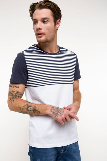 DeFacto Çigili Slim Fit T-shirt