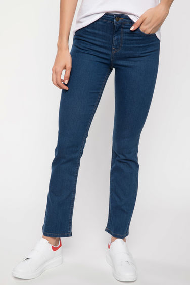 DeFacto Carmela Straight Fit Denim Pantolon