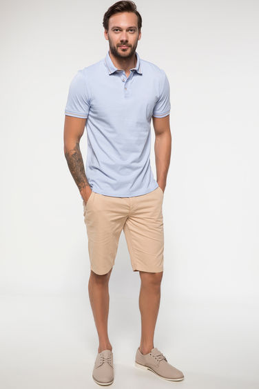 DeFacto Gabardin Regular Fit Chino Bermuda