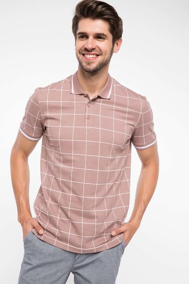 DeFacto Kareli Slim Fit Polo T-shirt
