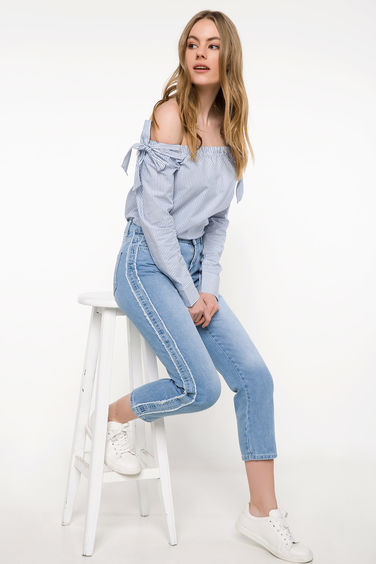 DeFacto Mary Straight Denim Pantolon