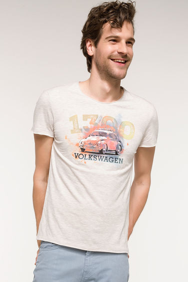 DeFacto VW Lisanslı Extra Slim Fit T-shirt