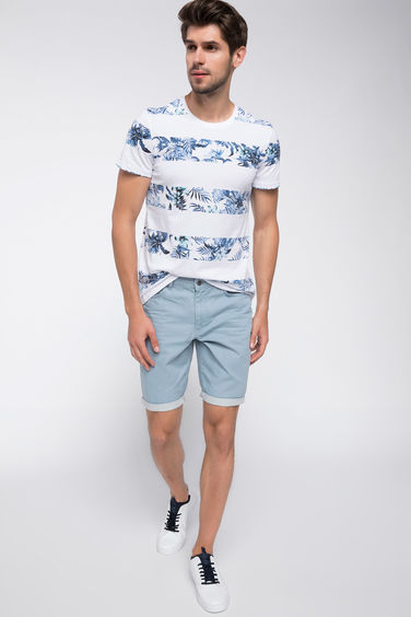 DeFacto Slim Fit Bermuda