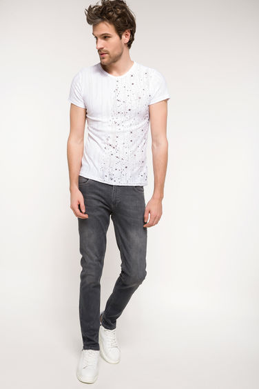 DeFacto Daniel Ekstra Slim Fit Denim Pantolon