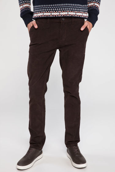 DeFacto Bruno Slim Fit Chino Pantolon