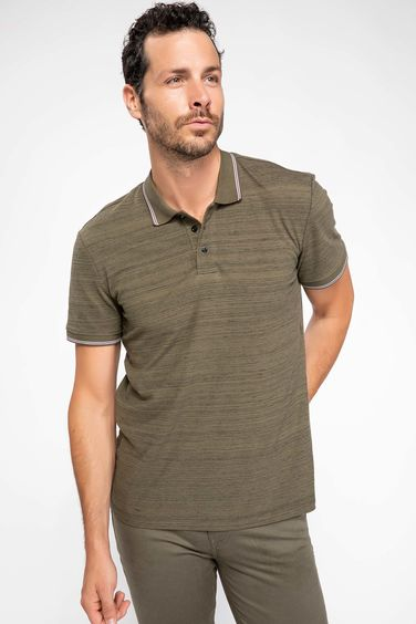 DeFacto Modern Fit Polo T-shirt