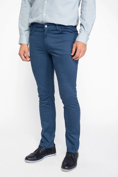 DeFacto Bruno Gabardin Slim Fit Pantolon