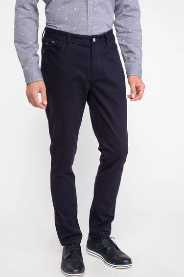 DeFacto Bruno Slim Fit Gabardin Pantolon