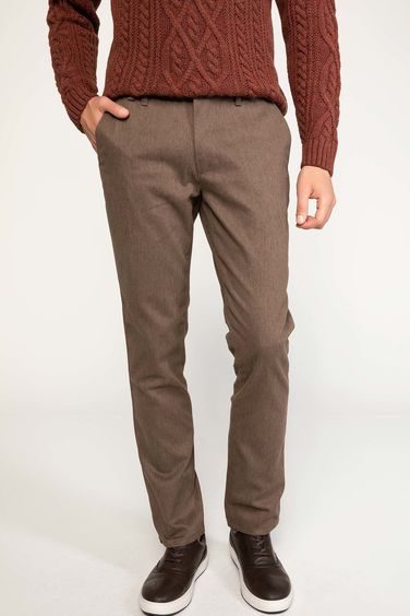 DeFacto Paco Regular Fit Yün Chino Pantolon
