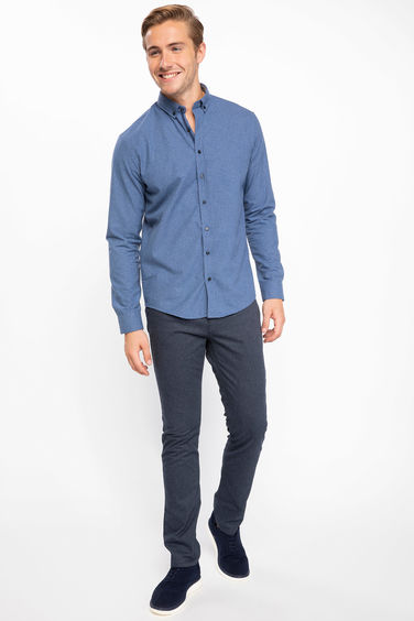DeFacto 5 Cep Slim Fit Bruno Pantolon