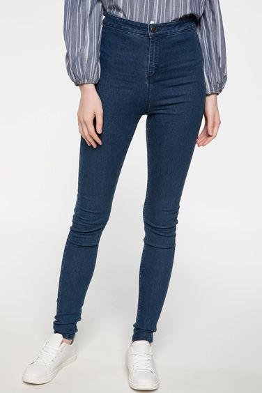 DeFacto Anna Yüksek Bel Super Skinny Fit Denim Pantolon