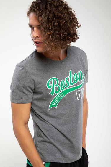 DeFacto Lisanslı Boston Celtics Baskılı T-shirt