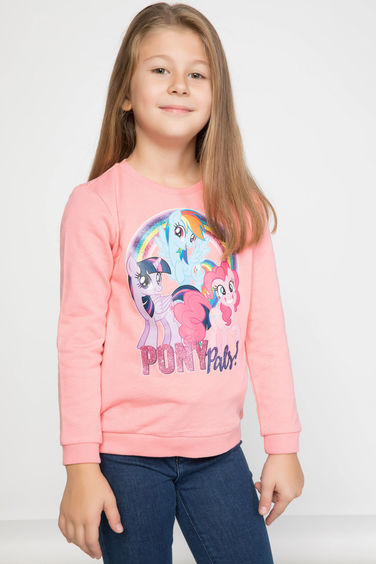 DeFacto My Little Pony Baskılı Lisanslı Sweatshirt