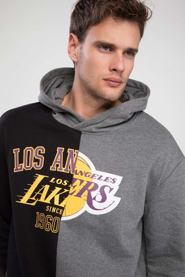 DeFacto Lisanslı Los Angeles Lakers Sweatshirt