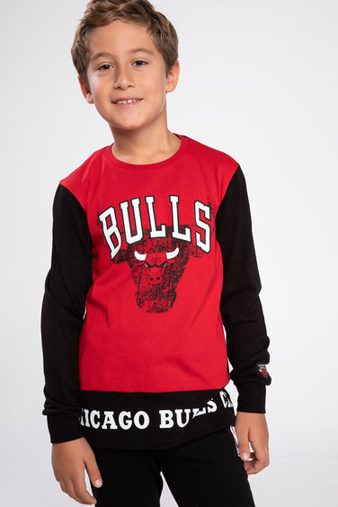 DeFacto NBA Chicago Bulls Lisanslı T-shirt