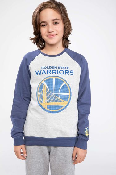 DeFacto Lisanslı Golden State Warriors Sweatshirt
