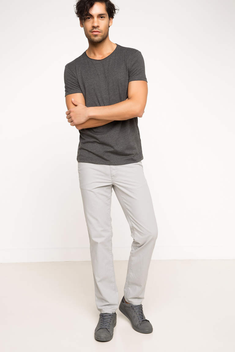 Ekstra Slim Fit Basic T-shirt