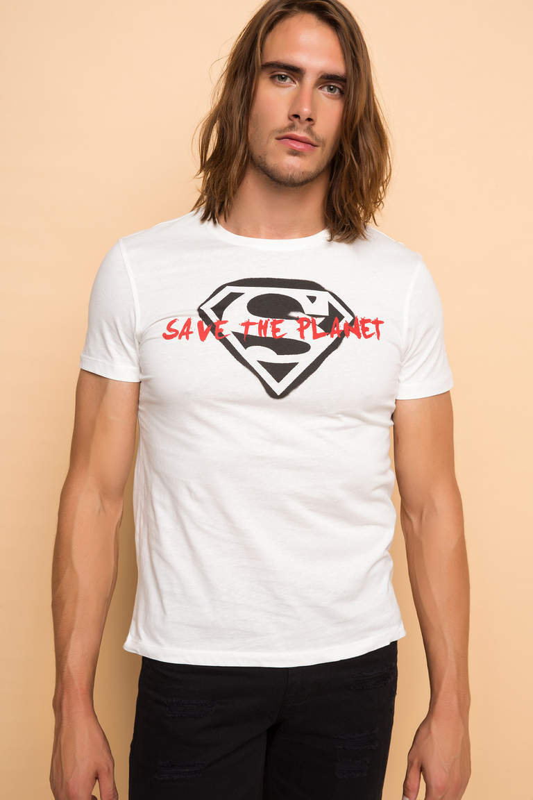 Superman Lisanslı T-shirt