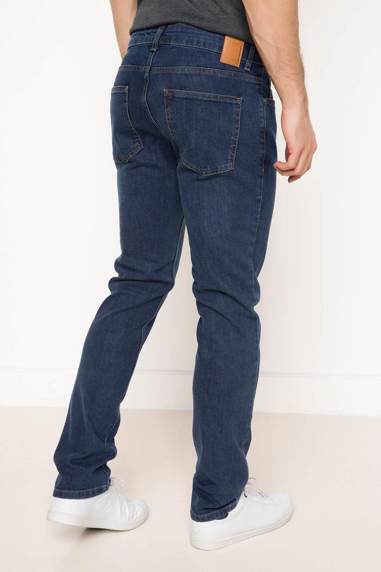 DeFacto Karma 3 Erkek Leo Regular Fit Denim Pantolon 3