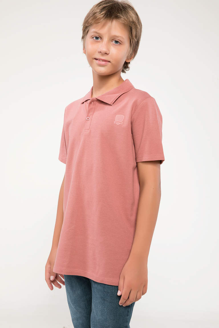 DeFacto Bordo Polo T-shirt 1