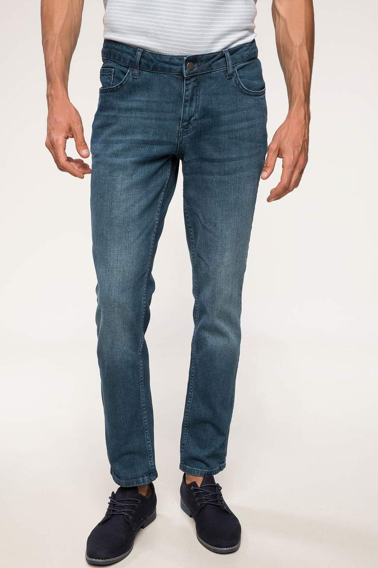 Pedro Slim Fit Denim Pantolon