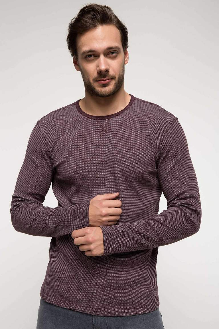 DeFacto Bordo Baskılı Slim Fit Body 1