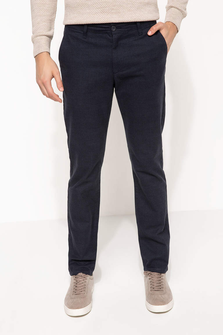 DeFacto Lacivert Erkek Paco Regular Fit Pantolon 1