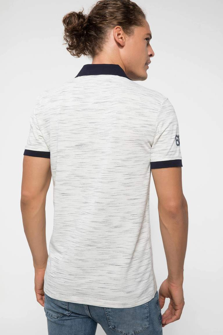 Slim Fit Polo Yaka T-shirt