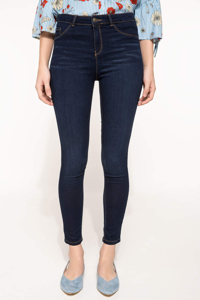 Skinny Denim Pantolon