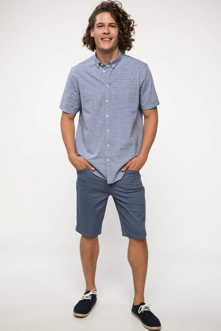 Basic Regular Fit Bermuda