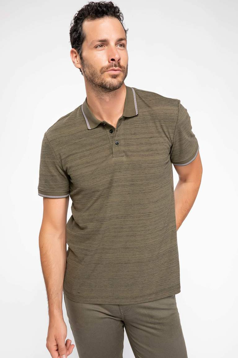 Modern Fit Polo Yaka T-shirt
