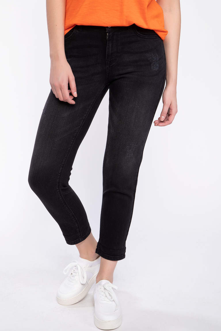 Susana Slim Fit Denim Pantolon