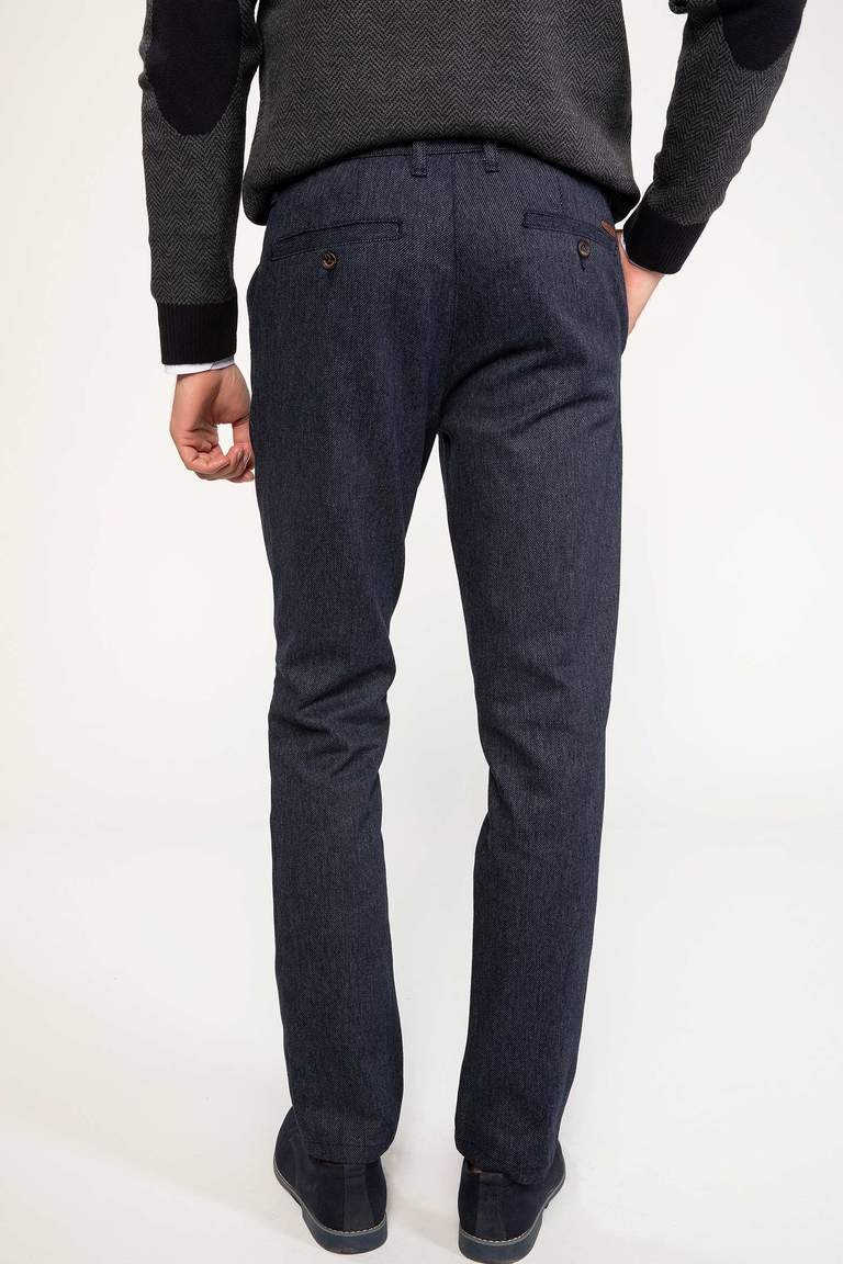 Paco Regular Fit Yün Chino Pantolon