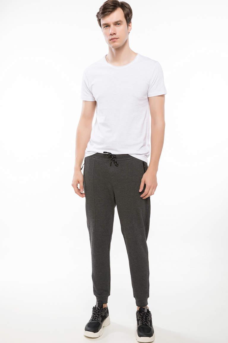 Fermuar Cepli Slim Fit Pantolon