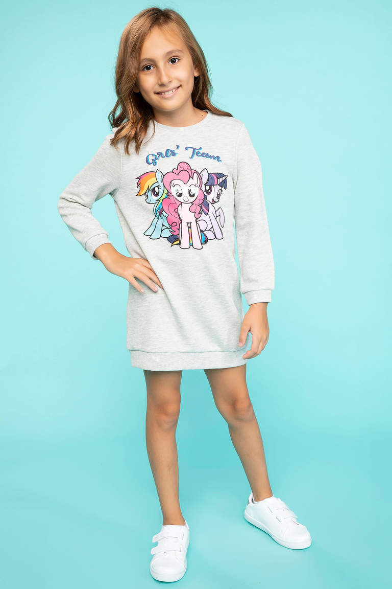 My Little Pony Lisanslı T-shirt Elbise